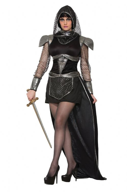 Mens Knights of Glamour Costume Medieval Middle Ages Fancy Dress Outfit